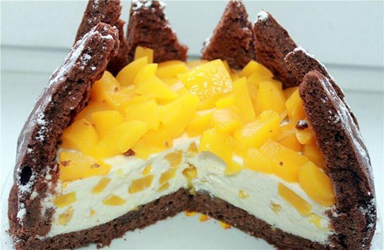 Самый оригинальный торт «Килиманджаро»
